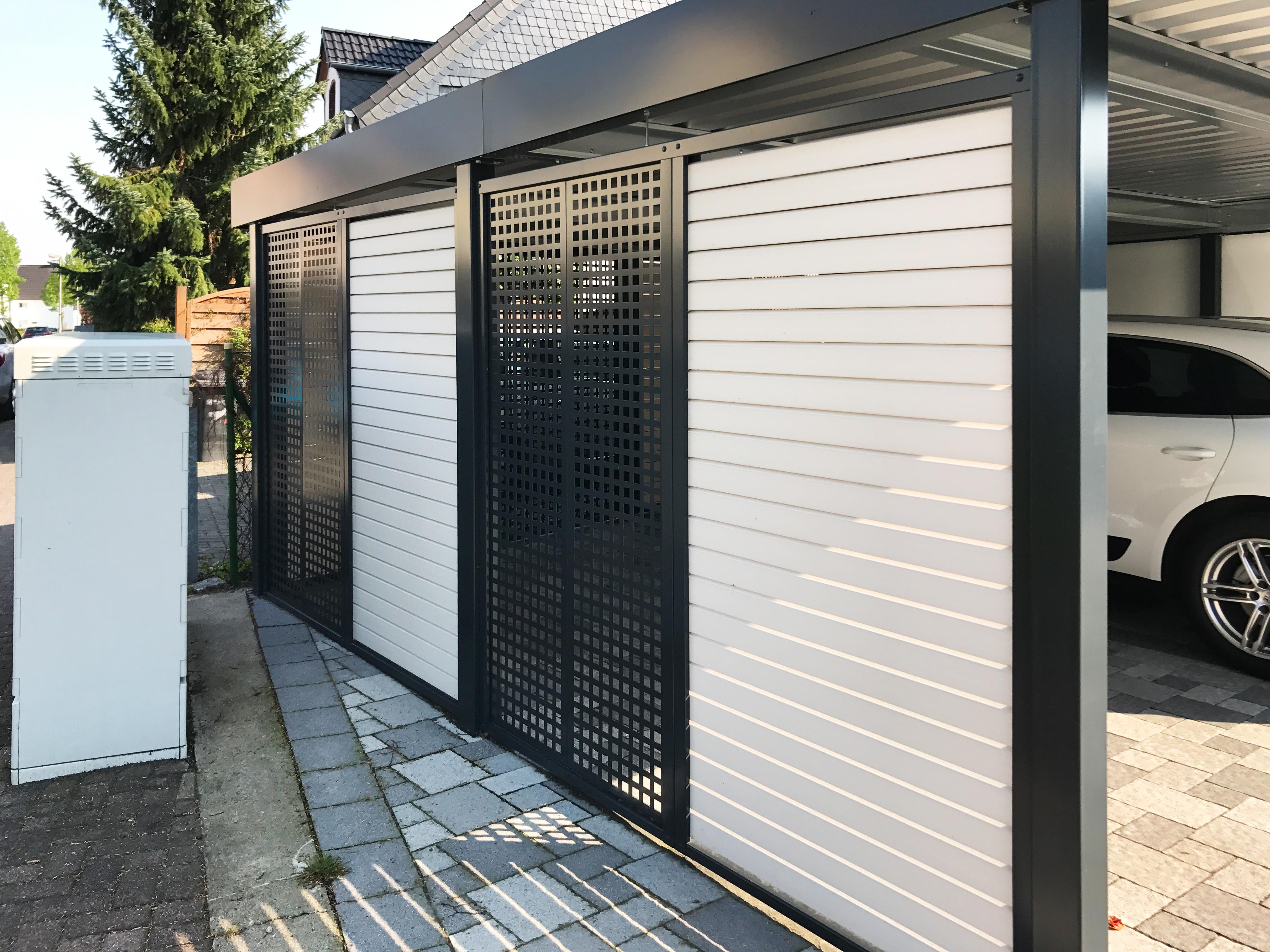 Wandverkleidung Garage : Carport wandelemente carceffo moderne carports garagen
